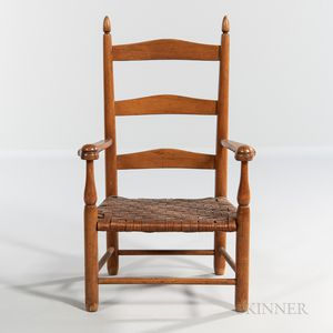 """Shaker Production """"No. 0"""" Child's Armchair"""