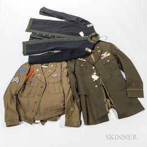 Three Military Tunics