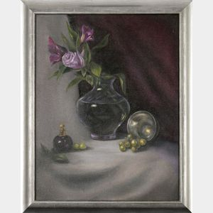 Bonnie Frederico (Massachusetts, b. 1945), Red Violet/Yellow Green