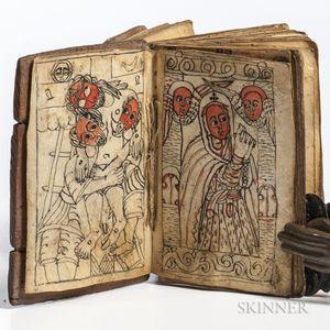 Ethiopian Manuscript.