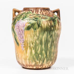 Roseville Glazed Pottery Vase