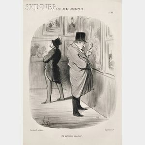 Honoré Daumier (French, 1808-1879)      Lot of Three Images: