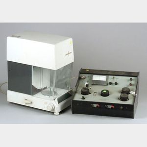 Three Electric Analytical Balances and a Potentiometer