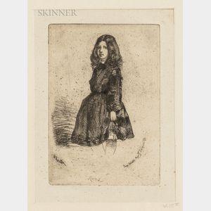 James Abbott McNeill Whistler (American, 1834-1903)      Annie