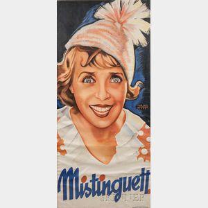 Fritz Weninger (Austrian, 1892-1981)      Mistinguett