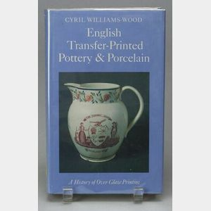 Seventeen Transfer Print Pottery and Porcelain Reference Books