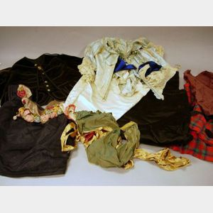 Group of Miscellaneous Victorian and Edwardian Clothing Articles