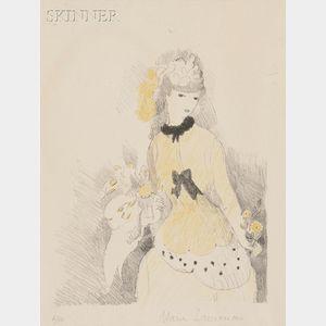 Marie Laurencin (French, 1885-1956)      La dame jaune