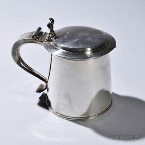 Charles II Sterling Silver Tankard