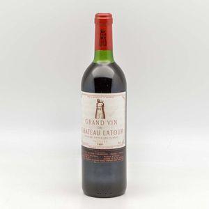 Chateau Latour 1981, 1 bottle