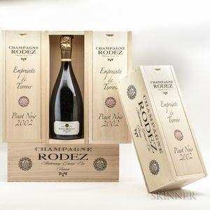 Eric Rodez Empreinte de Terroir Pinot Noir 2002, 5 bottles (ind. pc)