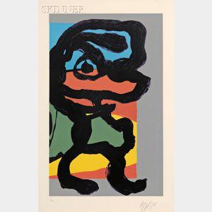 Karel Appel (Dutch, 1921-2006)      Untitled (Figure)