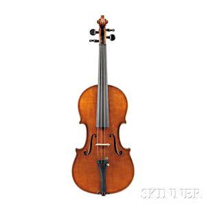 Modern Modern Italian Violin, Mario Bedocchi, Reggio, 1930