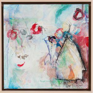 Anne Gilson Haney (American, b. 1961)      Pucker Up