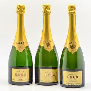 Krug Brut Grande Cuvee NV, 3 bottles