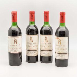 Chateau Latour 1966, 4 bottles