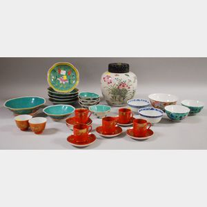 Group of Assorted Asian Porcelain Tableware