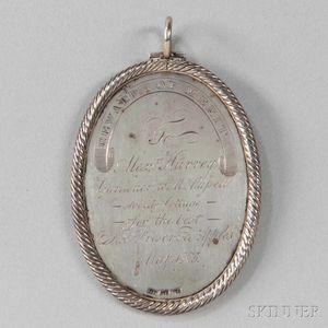 George IV Scottish Silver Horticultural Medal