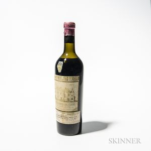 Chateau Haut Brion 1934, 1 bottle