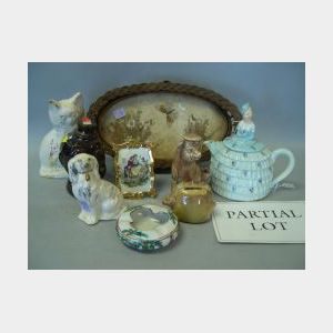 Lot of Miscellaneous Ceramics and Decorative Items.