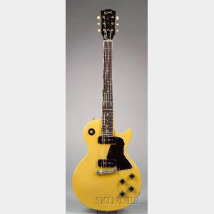 "American Electric Guitar, Gibson Incorporated, Kalamazoo, 1957, Model Les Paul ""TV"""