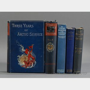 (Arctic Exploration), Four Titles in Five Volumes