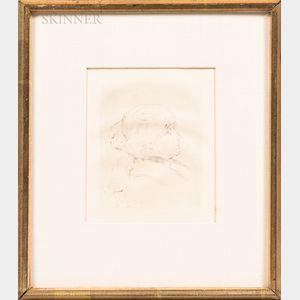 Pierre-Auguste Renoir (French, 1841-1919)      Berthe Morisot