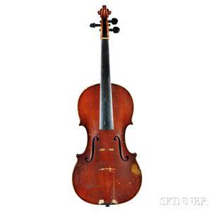 German Violin, Heinrich Th. Heberlein, Jr., Markneukirchen, 1920