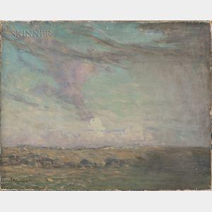 Arthur Clifton Goodwin (American, 1866-1929)      Fields and Sky