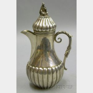 Middle Eastern Silver Coffeepot