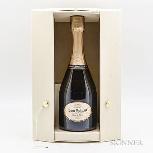 Dom Ruinart Blanc de Blancs 2004, 1 bottle (ogb)