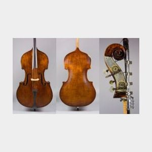 Contrabass, probably Czech, c. 1900