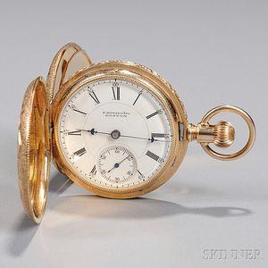 E. Howard & Co. 14kt Gold Pocket Watch