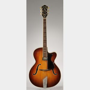 German Arch Top Guitar, Karl Hofner Company,  Schonbach, 1967