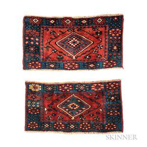 Pair of Northwest Persian Bagfaces