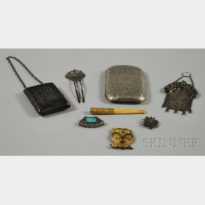 Small Group of Personal and Accessory Items