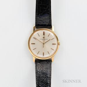 18kt Gold Vacheron Constantin Wristwatch