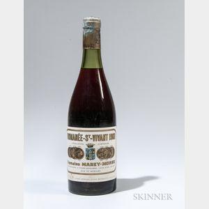 Leroy Romanee St. Vivant Marey Monge 1969, 1 bottle
