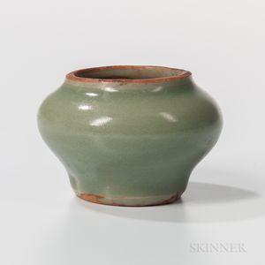 Miniature Celadon-glazed Jarlet