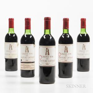 Chateau Latour 1966, 5 bottles