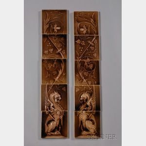 Kensington Tile Work Panels