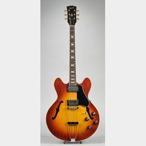 American Electric Guitar, Gibson Incorporated, Kalamazoo, 1970, Model ES-335