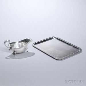 Two Pieces of Tiffany & Co. Sterling Silver Tableware