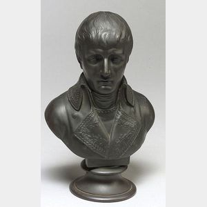 Wedgwood Black Basalt Bust of Napoleon
