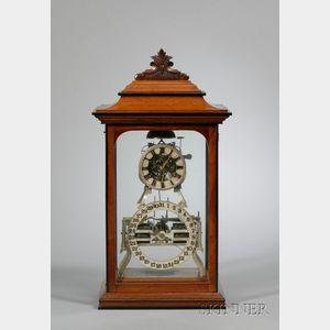 """Standard Box Skeleton"" Clock by Ithaca Calendar Clock Company"