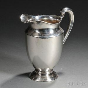 International Sterling Silver Water Pitcher