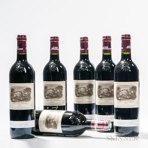 Chateau Lafite Rothschild 2002, 6 bottles