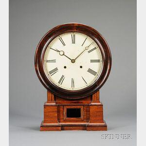 Rosewood Shelf Clock by the Atkins Clock Company