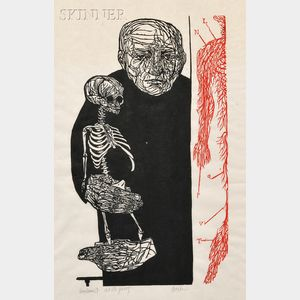 Leonard Baskin (American, 1922-2000)      Anatomist
