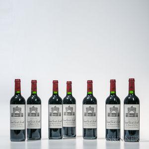 Chateau Leoville Las Cases 2005, 7 bottles